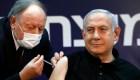 Benjamín Netanyahu se vacuna
