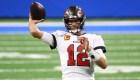NFL: Buccaneers regresan a la postemporada con Tom Brady