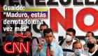"""Reacción de Guaidó a las cuestionadas elecciones: """"Maduro, estás derrotado una vez más"""""""