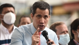 Esto dijo Juan Guaidó sobre si ha tenido contactos con Joe Biden