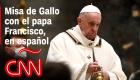El papa Francisco celebra la Misa de Gallo en el Vaticano con aforo reducido por la pandemia