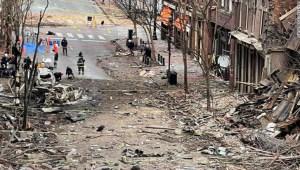 Policía de Nashville publica nuevo video de la explosión