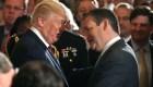 Ted Cruz, en desacuerdo con retórica y lenguaje de Trump