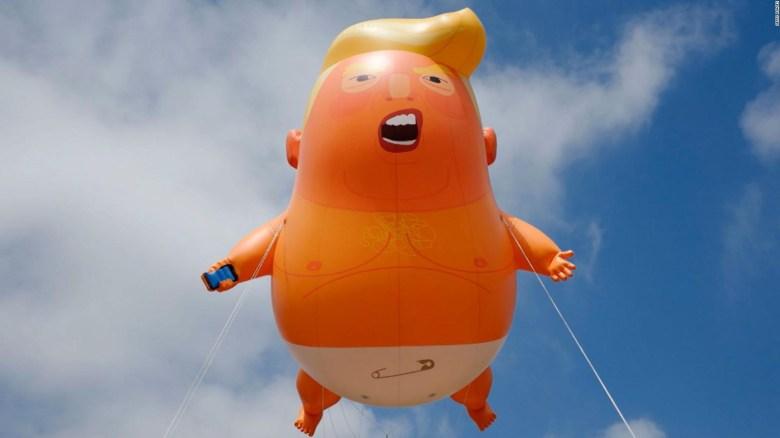"""El """"Bebé Trump"""" vivirá ahora en un museo"""