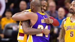 LeBron James habla del duelo por Kobe Bryant