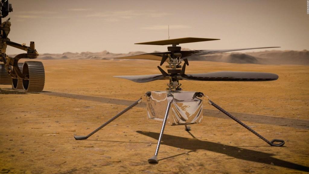 6 cosas que hay que saber del helicóptero rumbo a Marte