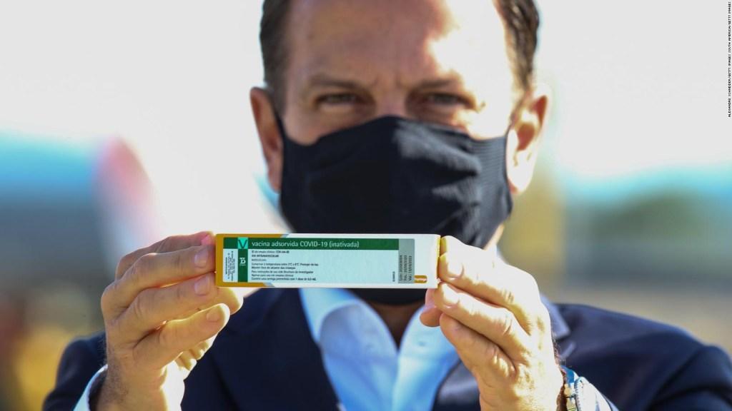 Vacuna de Sinovac Biotech solo sería efectiva en un 50,38%