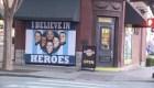 Con mural rinden homenaje a los héroes de Nashville