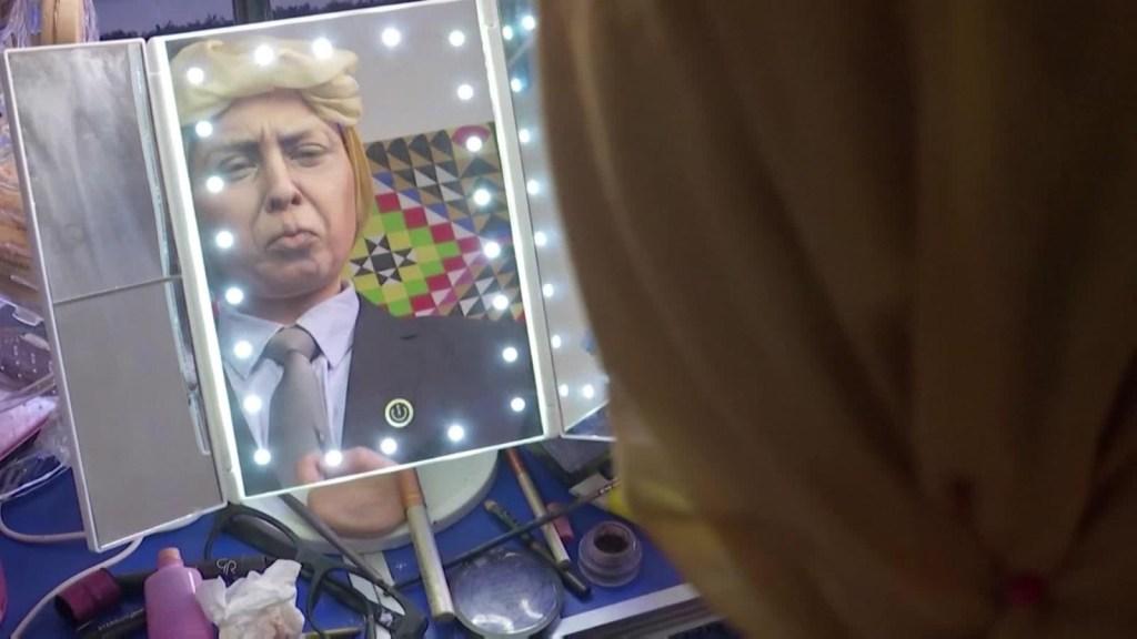 Artista jordana recrea celebridades usando maquillaje