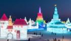 Así es el festival de nieve y hielo más grande del mundo
