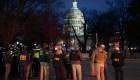 """FBI sobre turba en el Capitolio: """"Vamos a identificar a todos los involucrados"""""""