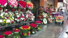 Florista: Me da tristeza hacer varias piezas al día para funerales
