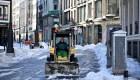 España reanuda servicios tras tormenta de nieve