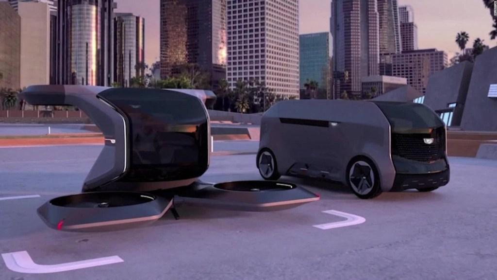 Mira el Cadillac volador futurista presentado en el CES 2021