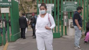 """""""Alivio"""" entre médicos y enfermeras ya vacunados en México"""