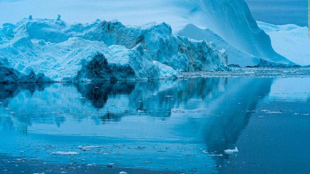 El iceberg más grande del mundo se derrite