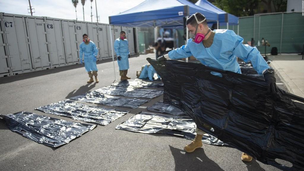 En Los Ángeles buscan más lugar para almacenar cuerpos
