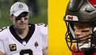 NFL: el esperado duelo entre Brady y Brees
