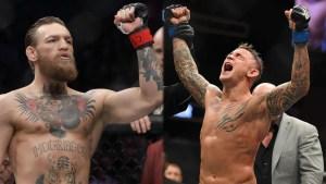 McGregor y Poirier, listos para el UFC 257