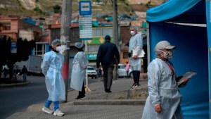 Colombia, con un fuerte aumento en casos de covid-19
