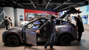 Tesla vende el automóvil Model Y en China