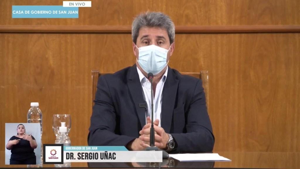 Argentina: el gobernador de San Juan se refirió al sismo