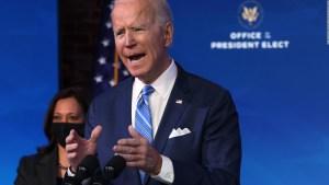 La agenda de Biden en el día de su investidura