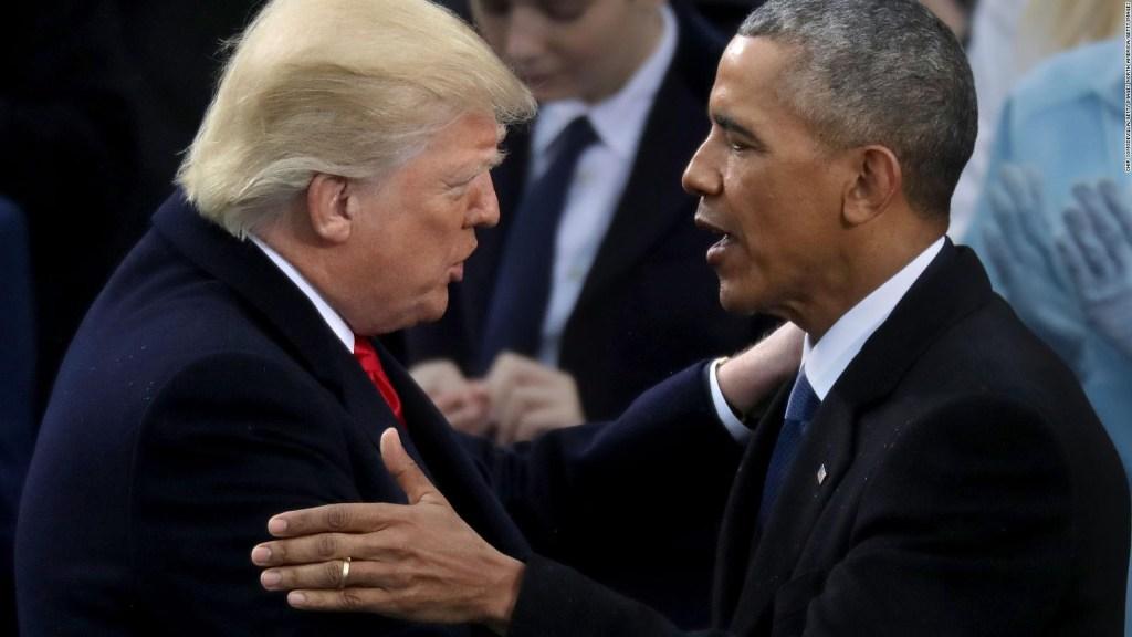 ¿Cómo fue el cambio de mando entre Obama y Trump?