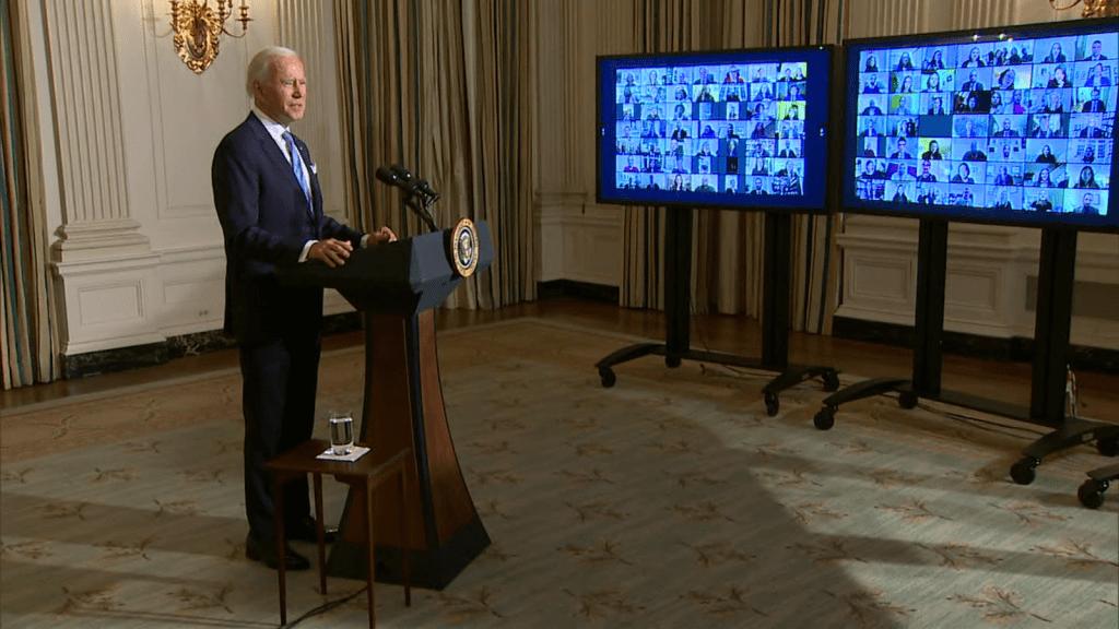 Esto dijo Biden a los nuevos empleados de la Casa Blanca