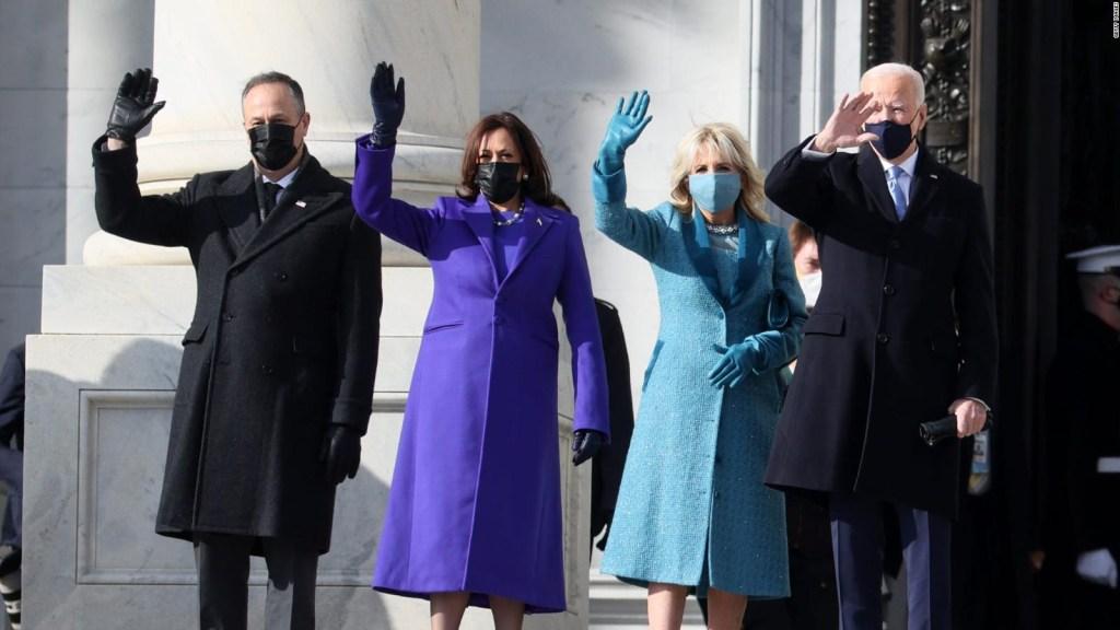 La moda durante la investidura de Biden