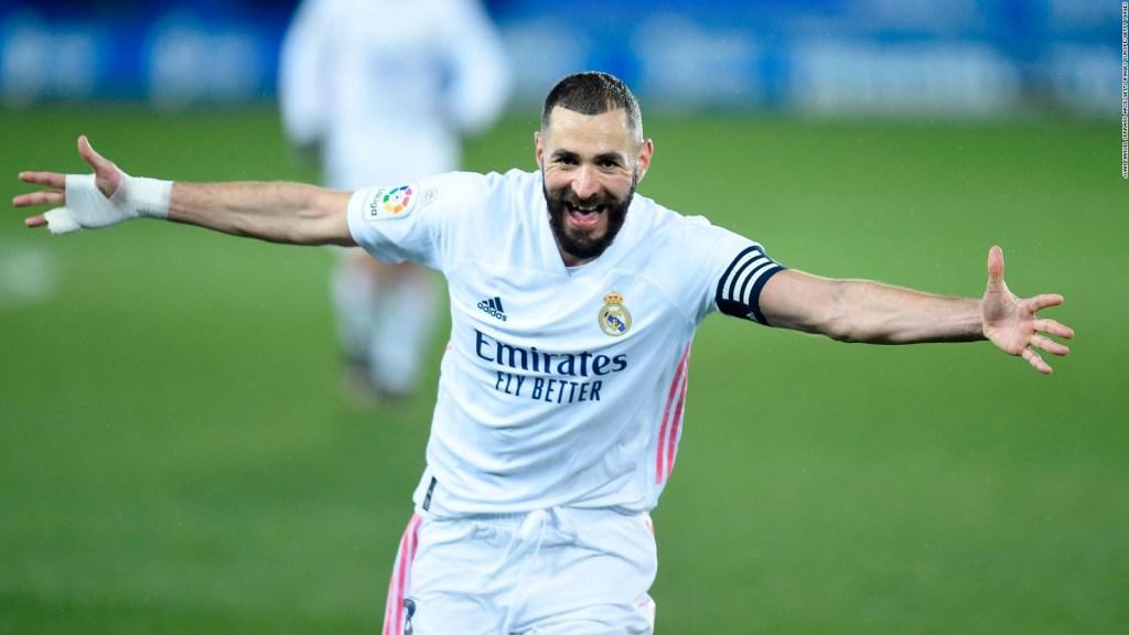 Karim Benzema, al rescate del Real Madrid