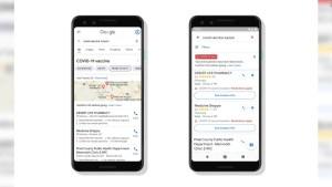 Google Maps ubica centros de vacunación