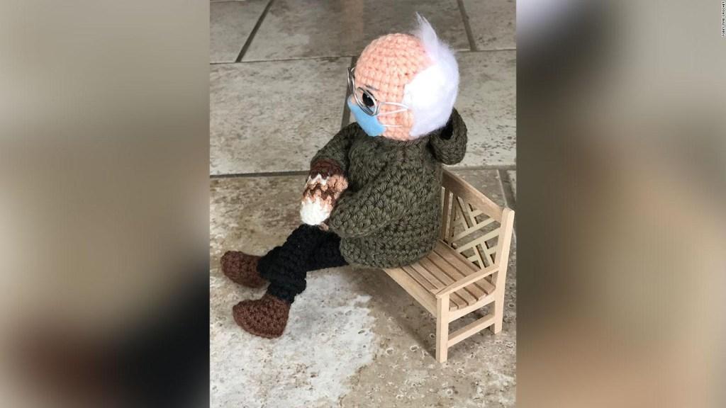 Subastan muñeco de Bernie Sanders