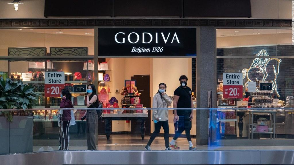 Godiva anuncia cierre de tiendas en EE.UU.