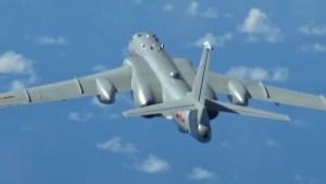 China envía aviones de guerra cerca de Taiwán