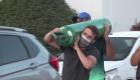 La travesía por un tanque de oxígeno en Brasil