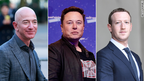 Multimillonarios de EE.UU. se vuelven más ricos