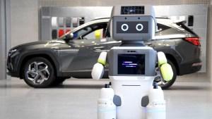 Mira el nuevo robot DAL-e de Hyundai