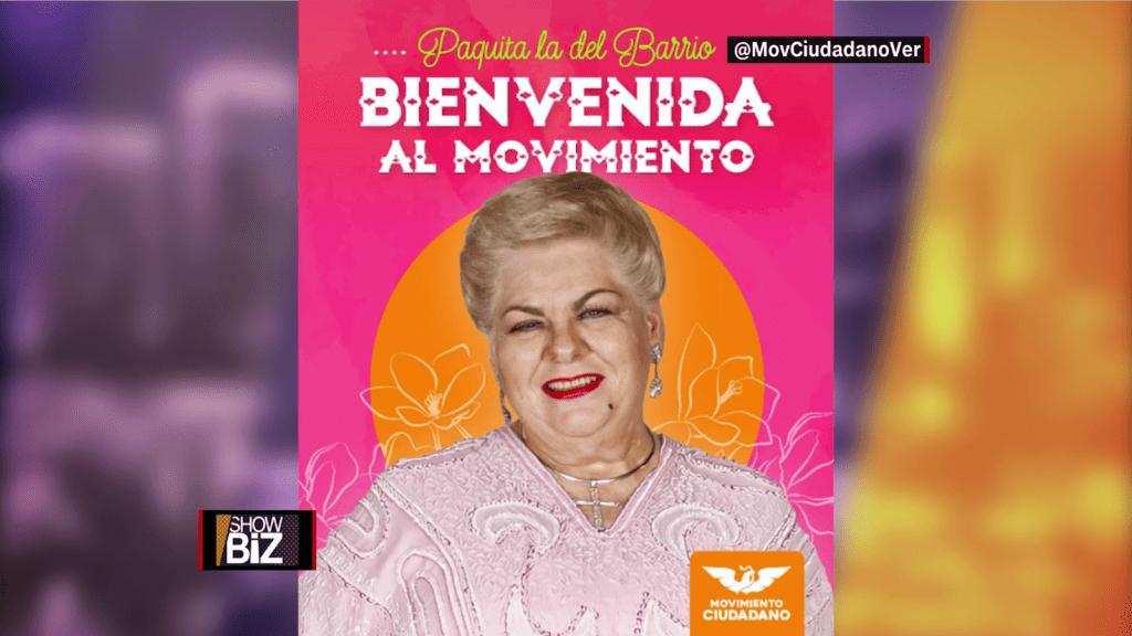 La farándula mexicana se vuelca hacia la política