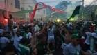 Afición de Palmeiras celebran haciendo caso omiso a la pandemia