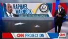 El demócrata Raphael Warnock gana la segunda vuelta del Senado, proyecta CNN