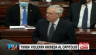 McConnell: La conducta criminal nunca va a dominar al Congreso de EE.UU.