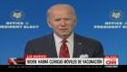 Biden delinea planes para vacunación contra el covid-19