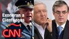 """Ebrard explica exoneración de Cienfuegos, AMLO acusa a la DEA de """"fabricar el caso"""""""