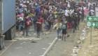 Caravana se dispersa en Guatemala tras enfrentamientos