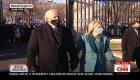Esta fue la llegada de Joe Biden y su familia a la Casa Blanca