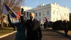 Esta fue la llegada de Joe Biden llega a la Casa Blanca