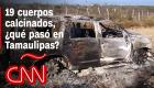 Otra masacre en México, qué sabemos del hallazgo de 19 cadáveres carbonizados