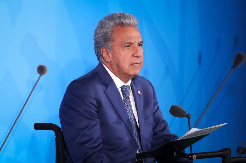 Avión presidencial de Ecuador aterrizó de emergencia