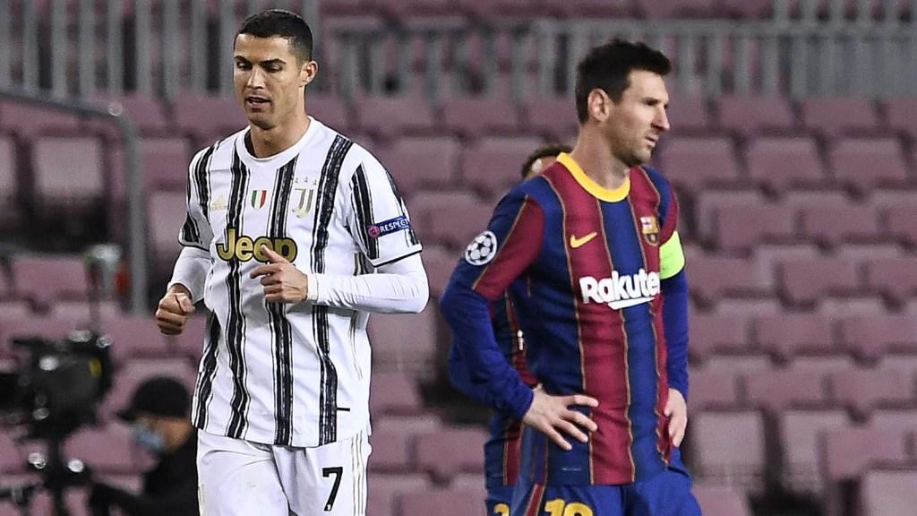 Messi y CR7, vigentes y lejos del ocaso